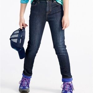 L.L. Bean Kids Performance Lined Jeans